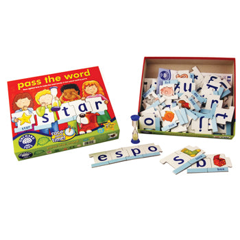 WORD GAMES, Pass the Word, Age 5-10, Each