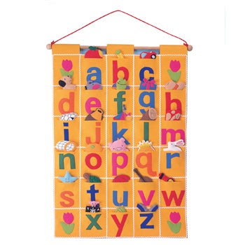 WALL HANGINGS, ABC CHART, Set