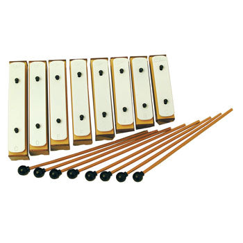 CHIME BARS, 8 Note Diatonic, Set