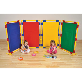 PLAY PANEL SERIES, PLAY PANEL SERIES, 4 COLOURED PANELS, Rectangular Panel, Set of 4