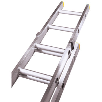 TRADE LADDERS, 2 Section Push Up, 17 Rungs per Section, Each