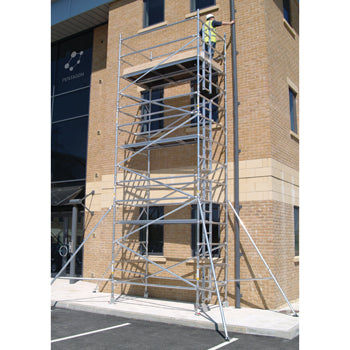 SCAFFOLDING, INDUSTRIAL TOWER SYSTEMS, Platform Size 1.45 x 1.8m, 6.2m height, Each