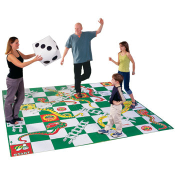 RECREATIONAL GAMES, GIANT SNAKES & LADDERS, Each