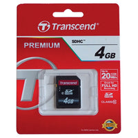 CAMERA/CAMCORDER ACCESSORIES, SDHC Card, 4GB, Each