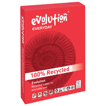 Paper, EVOLUTION EVERYDAY, A4 80gsm, Half Pallet 20 Boxes