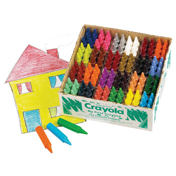 WAX CRAYONS, CRAYOLA, Crayola My First Chunky, Age 1+, Class Pack of 144
