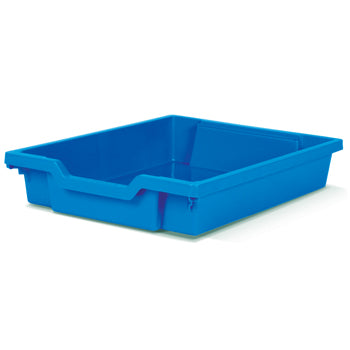 TRAYS, SHALLOW TRAY, 312 x 427 x 75mm height, Royal Blue, (Maths)