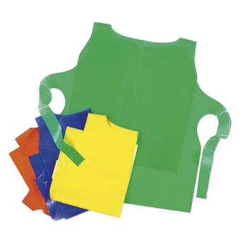DISPOSABLE CHILDREN'S TABARD, 60cm long, Pack of 12