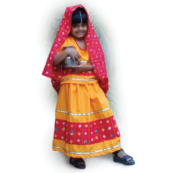 MULTI-ETHNIC DRESSING UP OUTFITS, Rajasthani Outfit, Each