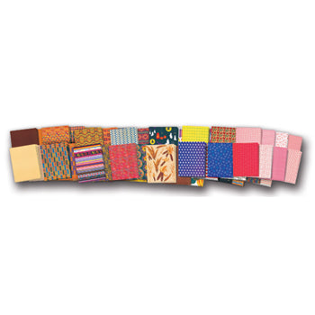 ASSORTED PATTERNED PAPER, Class Pack of 248 sheets