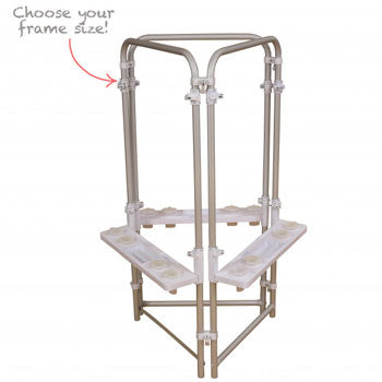 MAKE YOUR OWN EASELS, Step 1 Choose Your Easel Frame, 3 Sided, 1220 x 640 x 520mm, Each