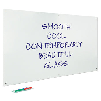 MAGNETIC GLASS WHITEBOARDS, 500 x 500mm