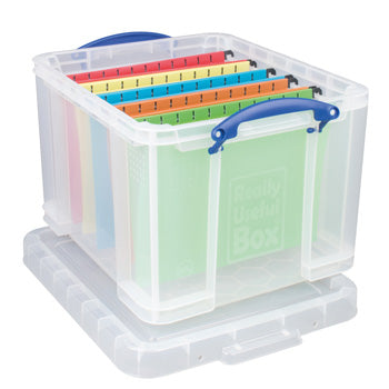 REALLY USEFUL BOXES, 35 litre, 480 x 390 x 310mm, Each