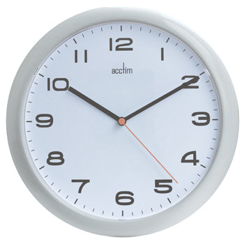 CLOCK, WALL, Quartz 250mm, Each