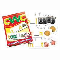 MAGNET WORD STRIPS, CVVC Double Vowels, Set