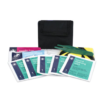 FIRST AID, PERSONAL PROTECTION POUCHES, NYLON BELT POUCH, Size closed 150 x 125mm, Each