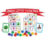 LOTTO TWIN PACKS - FRENCH, Pack of 2 sets