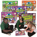 SMART KIDS, SYNTHETIC PHONICS BOARD GAMES, Set