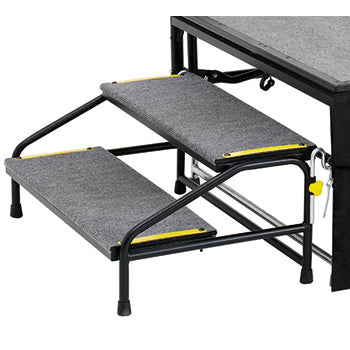 STAGE ACCESSORIES, STEP UNIT, 2 Rise