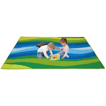 LEARNING RUGS, ECONOMY PILE RUGS, River, 2400 x 2000mm, Each