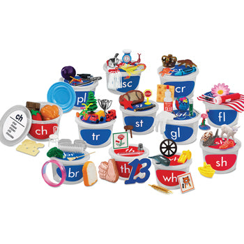 TEACHING TUBS, Blends and Digraphs, Set