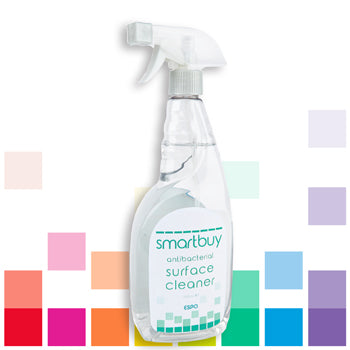Smartbuy, ANTIBACTERIAL SURFACE CLEANER, Case of 6 x 750ml