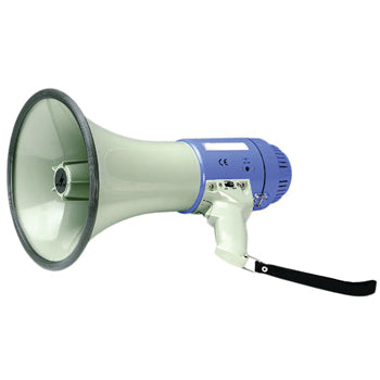 MEGAPHONES WITH SIREN, 20W, Each