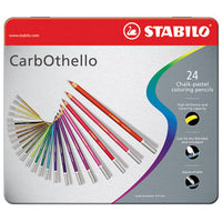 PASTEL PENCILS, STABILO(R) CarbOthello, Pack of 24