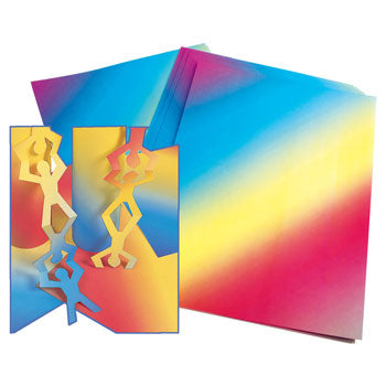 RAINBOW CARD, Pack of 30 sheets