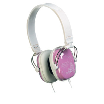 INDIVIDUAL HEADPHONES, Coloured, Pink, Each