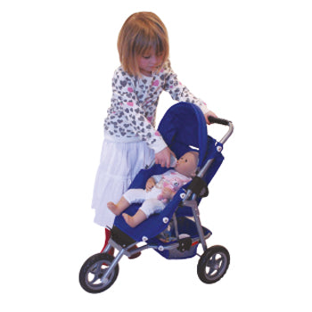 ROLE PLAY, PUSHCHAIR, THREE WHEEL ADVENTURE STROLLER, Age 3+, Each