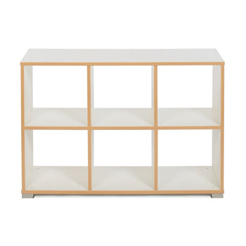 CUBE ROOM DIVIDERS, 6 Cube (horizontal), White