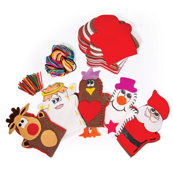 CHRISTMAS PUPPETS, Pack of 30