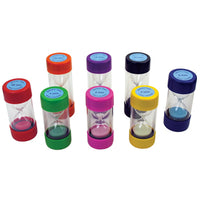 SAND TIMERS, Large, 5 min (Blue), Each
