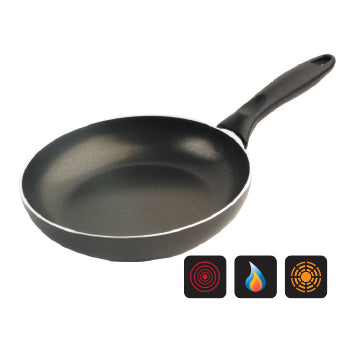 PANS, FRYING, Non-Stick, 240mm top dia., Medium, 240mm, Each