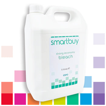 Smartbuy, Strong Economy Bleach, Case of 4 x 5 litres