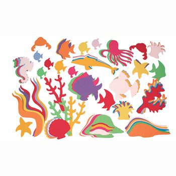 DISPLAY SHAPES, Sealife, Pack of 400