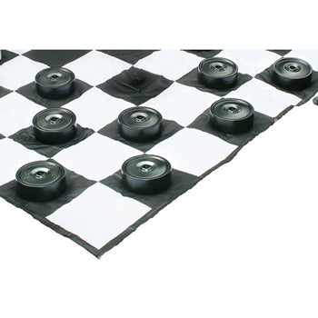 RECREATIONAL GAMES, GIANT DRAUGHTS PIECES, Each
