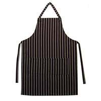 APRONS, Navy/White Striped, 107cm length, Each