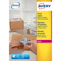 AVERY(R) BLOCKOUT(TM) LASER SHIPPING  LABELS, L7169-100, Pack of 100