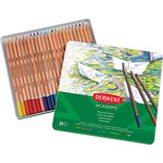 WATER-SOLUBLE COLOURED PENCILS, Derwent Academy, Pack of 24