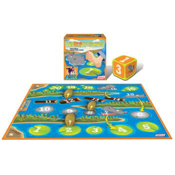 NUMBER GAMES, Hiphopopotomus, Age 4+, Each