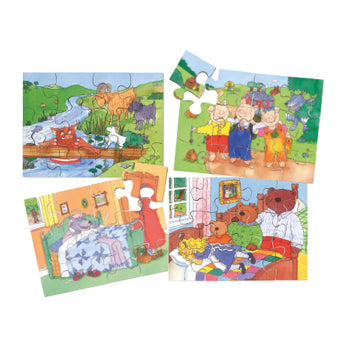 STORY TIME PUZZLES, Set of 4
