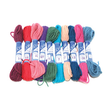 THREADS AND YARNS, Tapestry Wool, Pack of 10