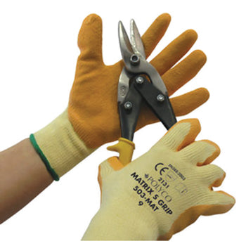 GENERAL HANDLING GLOVES, Polyco Matrix(R) S Grip, Medium (8), Pair