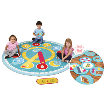 KIT FOR KIDS, TELL THE TIME, 2000 x 2000mm, Each
