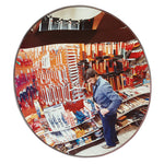 SECURITY & OBSERVATION MIRRORS, Indoor Use, 600mm dia. Circular, Each
