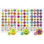 STICKERS, MOTIVATION & REWARD, A5 Compilation Pack, Pack of 456 stickers