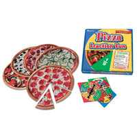 FRACTION GAMES, Pizza Fraction Fun, Each