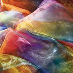 TEXTILES, FABRIC PACKS, Rainbow Organza, 1m x 1.5m, Each